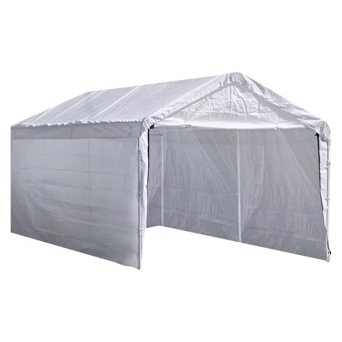 Super Max  Canopy Enclosure Kit White Shelterlogic