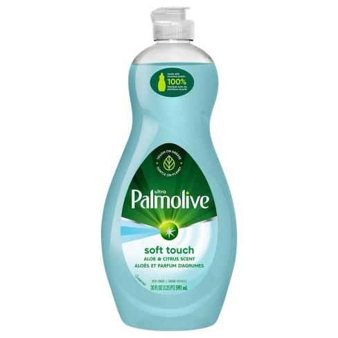 Palmolive Ultra Dishwashing Liquid Dish Soap - Soft Touch Aloe and Citrus - 20 fl oz - image 1 of 4