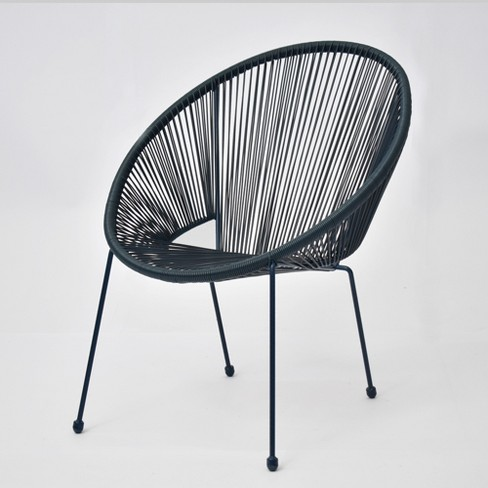 Fisher Stack Patio Egg Chair Blue - Project 62™ - image 1 of 4