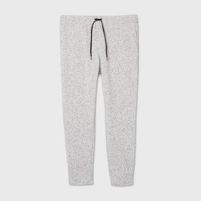 Men's Big & Tall Sweater Fleece Jogger Pants - Goodfellow & Co™