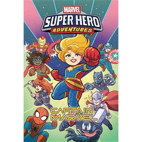 Marvel Super Hero Adventures: Captain Marvel - (Paperback) - image 1 of 1