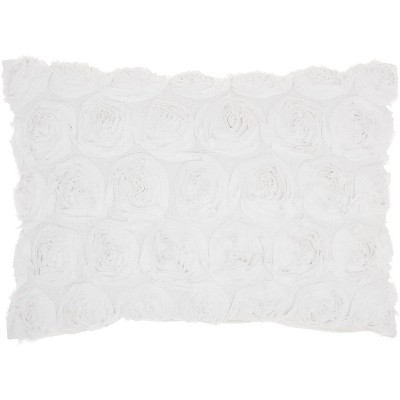 Mina Victory Life Styles Denim Roses Throw Pillow : Target