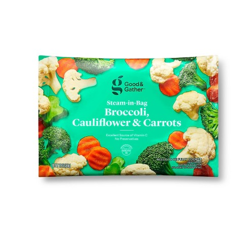 Frozen Broccoli Cauliflower & Carrots Blend - 12oz - Good & Gather™ - image 1 of 2