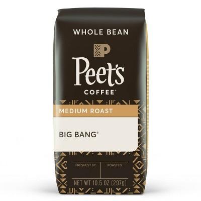 Peet's Big Bang Medium Roast Whole Bean Coffee - 10.5oz