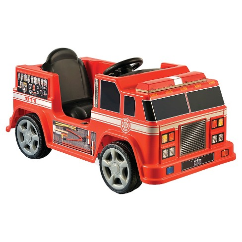 Kid Motorz Fire Engine Red 6V - image 1 of 1