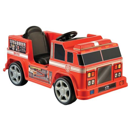 Kid Motorz Fire Engine Red 6V image number null