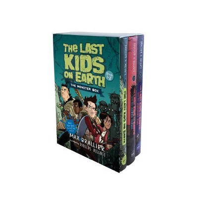 The Last Kids on Earth: The Monster Box (Books 1-3) - by Max Brallier (Mixed Media Product)
