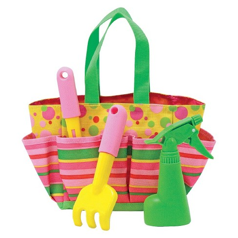 Melissa & Doug® Sunny Patch Blossom Bright Gardening Tote Set With Tools - image 1 of 2