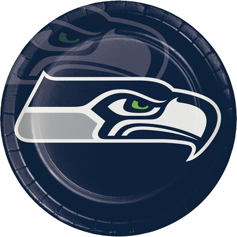 8ct Seattle Seahawks Paper Plates - image 1 of 1