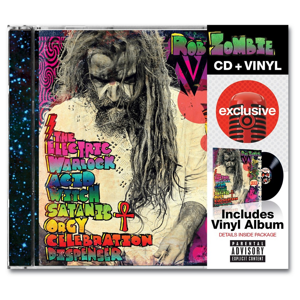 Rob Zombie - The Electric Warlock (Target Exclusive: Free Vinyl with CD purchase)