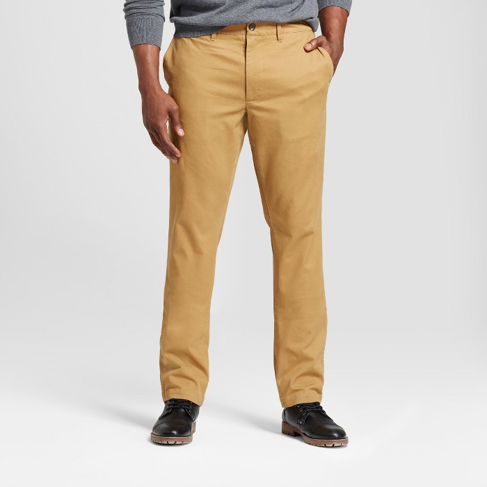 Men's Tall Athletic Fit Hennepin Chino Pants - Goodfellow & Co™ - image 1 of 3