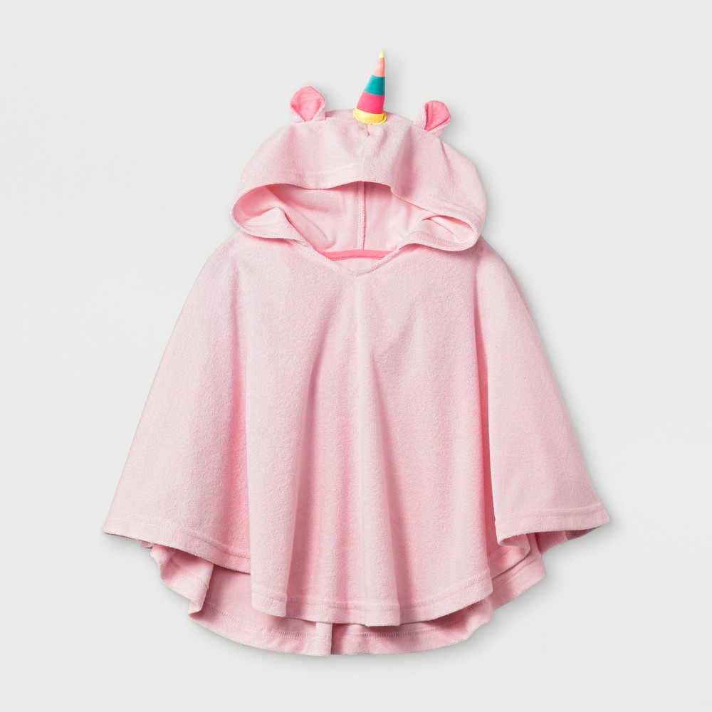 Toddler Girls' Unicorn Cover-up - Cat & Jack Pink 12-18M