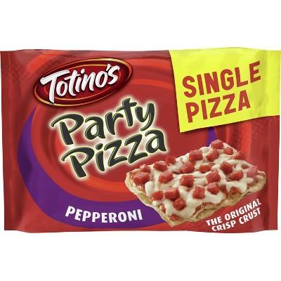 Totino's Pepperoni Party Frozen Pizza - 10.2oz