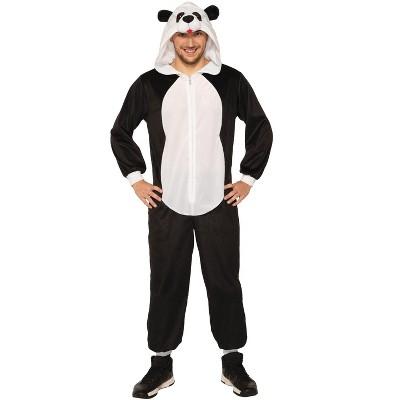 Forum Novelties Hooded Panda Jumpsuit Adult Costume