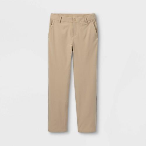 Boys Golf Pants All In Motion Khaki 4 Green