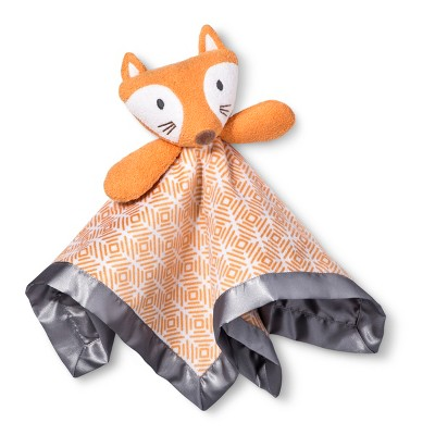 Small Security Blanket Fox - Cloud Island™ Orange