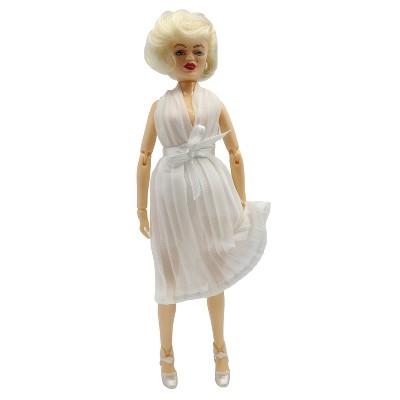 Mego Marilyn Monroe in White Dress Action Figure 8""