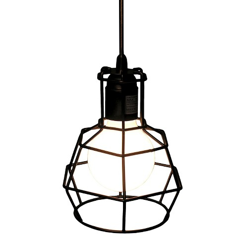 Warehouse Of Tiffany 9 X 8 X 10 Inch Black Ceiling Lights - image 1 of 1