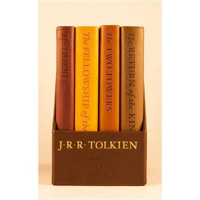The Hobbit and The Lord of the Rings: Deluxe Pocket Boxed Set by J.R.R. Tolkien (Paperback) by J.R.R. Tolkien