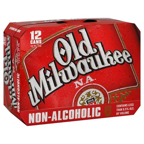 Old Milwaukee® Non-Alcoholic Beer - 12pk / 12oz Cans - image 1 of 1