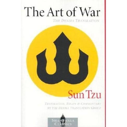 The Art of War: The Denma Translation - (Shambhala Classics) by  Sun Tzu (Paperback) - image 1 of 1