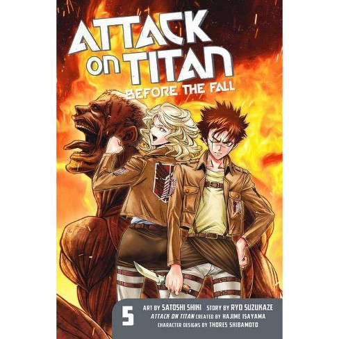 Attack on Titan: Before the Fall, Volume 5 - by  Ryo Suzukaze (Paperback) - image 1 of 1