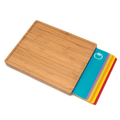 Lipper International® Cutting Board w/Inlay Boards