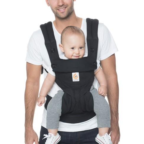 b002c210016 Ergobaby 360 Standard Baby Carrier - Black   Target