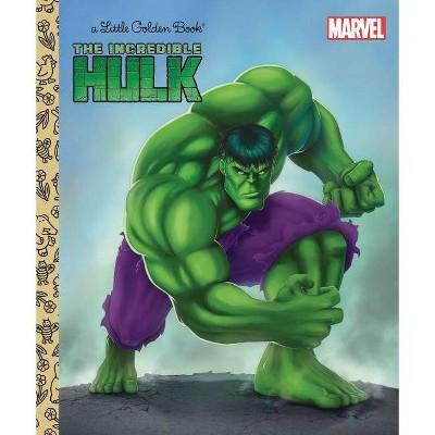 The Incredible Hulk (Marvel: Incredible Hulk) - (Little Golden Book) by  Billy Wrecks (Hardcover)