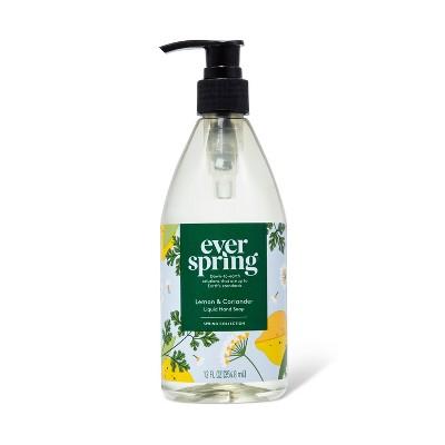 Liquid Hand Soap Fragrance Load 0.75% - Lemon & Coriander - 12 fl oz - Everspring™