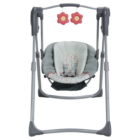 Graco Slim Spaces Compact Baby Swing Target