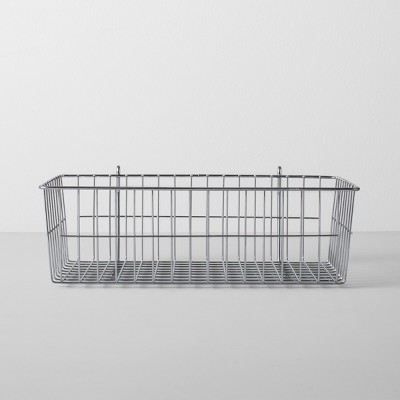 Wire Shelf Hanging Accessory Basket Silver - Made By Design™