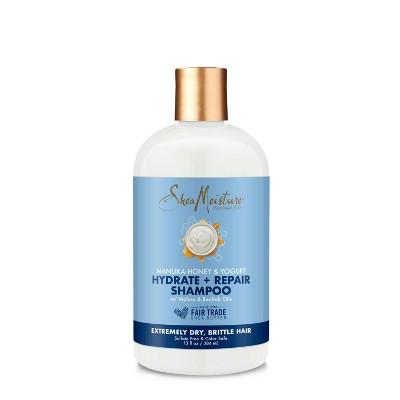Shampoo & Conditioner: SheaMoisture Hydrate & Repair