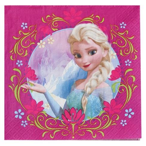 16 ct Frozen Anna & Elsa Napkin - image 1 of 3