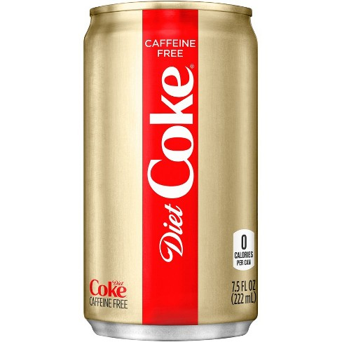 is caffeine free diet coke carbonated
