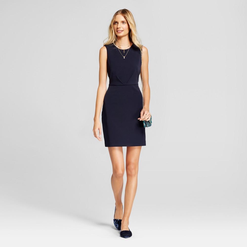 Women's Bi-Stretch Twill Dress - A New Day Federal Blue 10