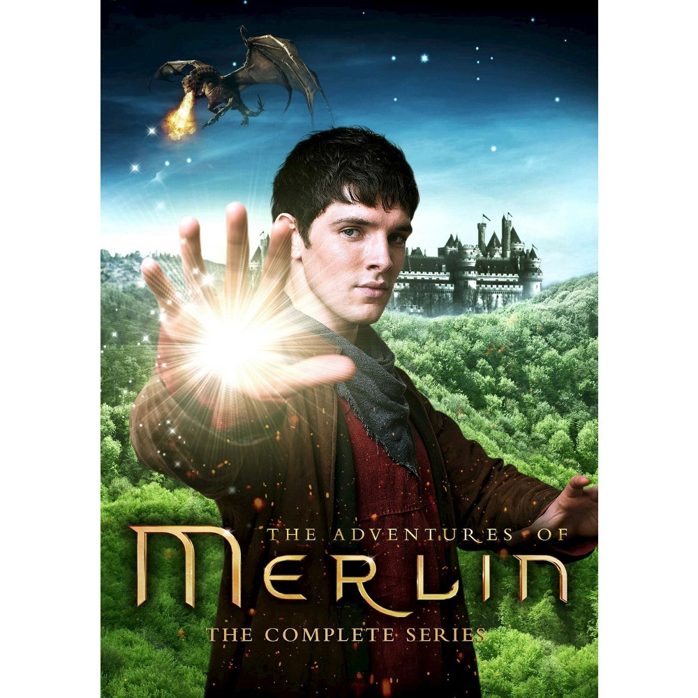 Merlin:Complete series (Dvd)