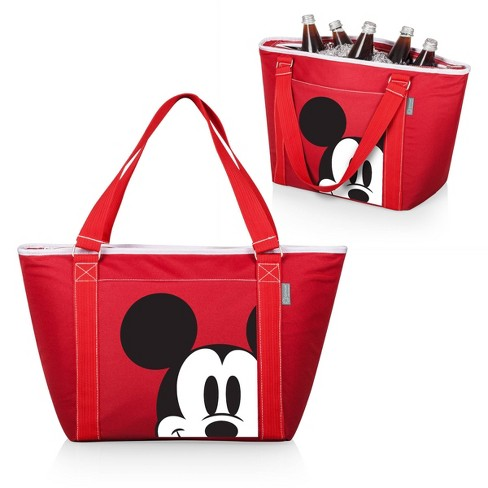 Picnic Time Disney Mickey Mouse Topanga 24 Can Cooler Tote - Red - image 1 of 3