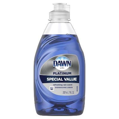 Dawn Ultra Platinum Refreshing Rain Scented Dishwashing Liquid - 7 fl oz