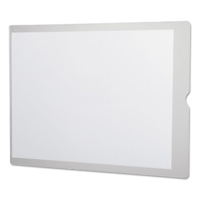 Oxford Utili-Jacs Heavy-Duty Clear Plastic Envelopes 9 x 12 50/Box 65012