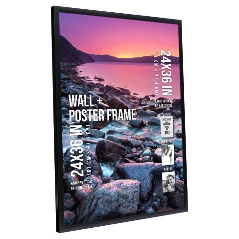 Poster Frame 1 Profile Black 24x36 Room Essentials Target
