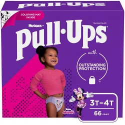 Huggies Pull Ups Learning Designs Girls' Training Pants Super Pack - (Select Size)