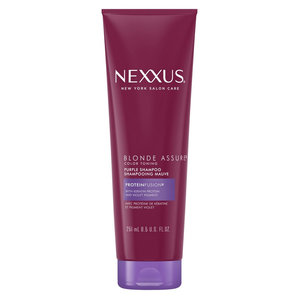 Image of Nexxus Blonde Assure Shampoo for Color Treated or Natural Blondes - 8.5oz