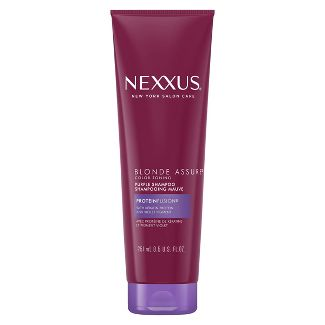 Nexxus Blonde Assure Shampoo for Color Treated or Natural Blondes - 8.5oz