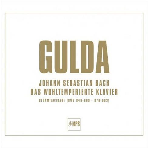 Friedrich gulda - Bach:Well tempered clavier (Vinyl) - image 1 of 1