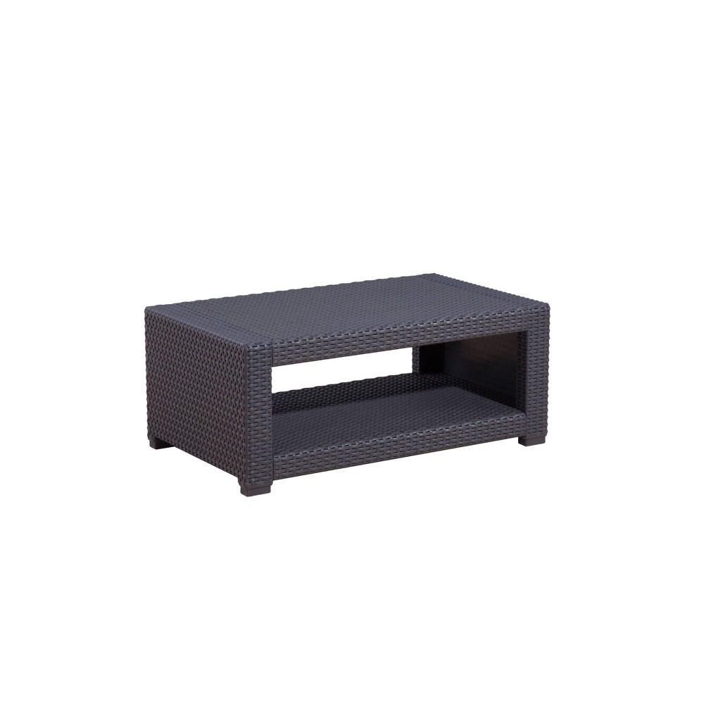 Image of Palm Bay Outdoor Accent Table Dark Gray - Relax-A-Lounger