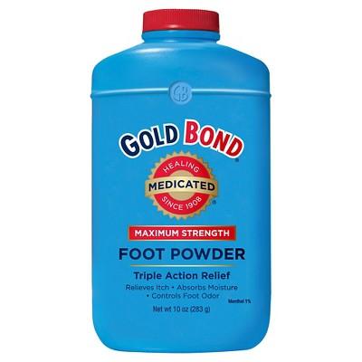 Gold Bold Medicated Foot Powder - 10 oz.