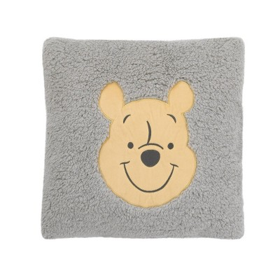 Winnie The Pooh Exploration Square Sherpa Throw Pillow