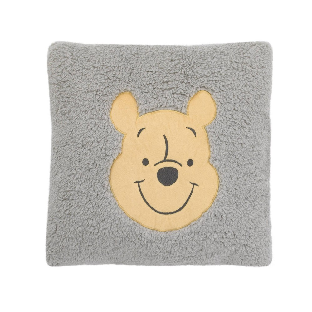 Image of Winnie The Pooh Exploration Square Sherpa Throw Pillow