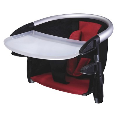 phil&teds® Lobster Clip-On High Chair - Black/Red